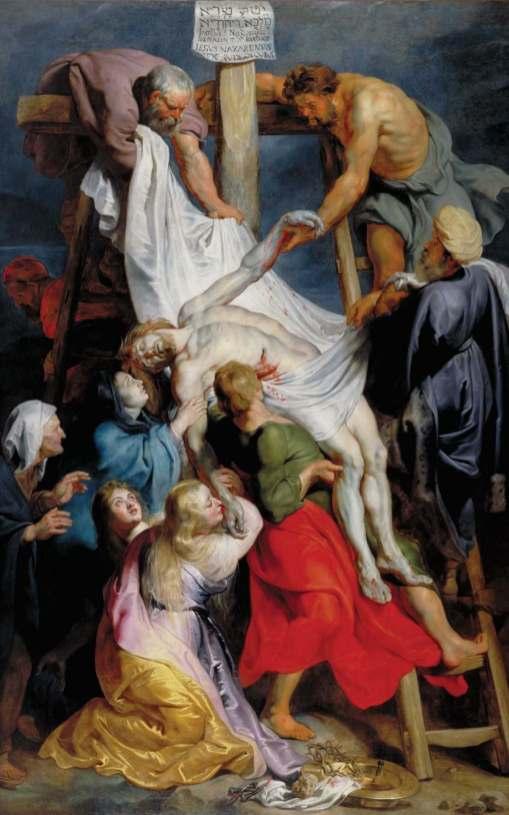 Rubens, Descente de Croix © Palais des Beaux-Arts de Lille
