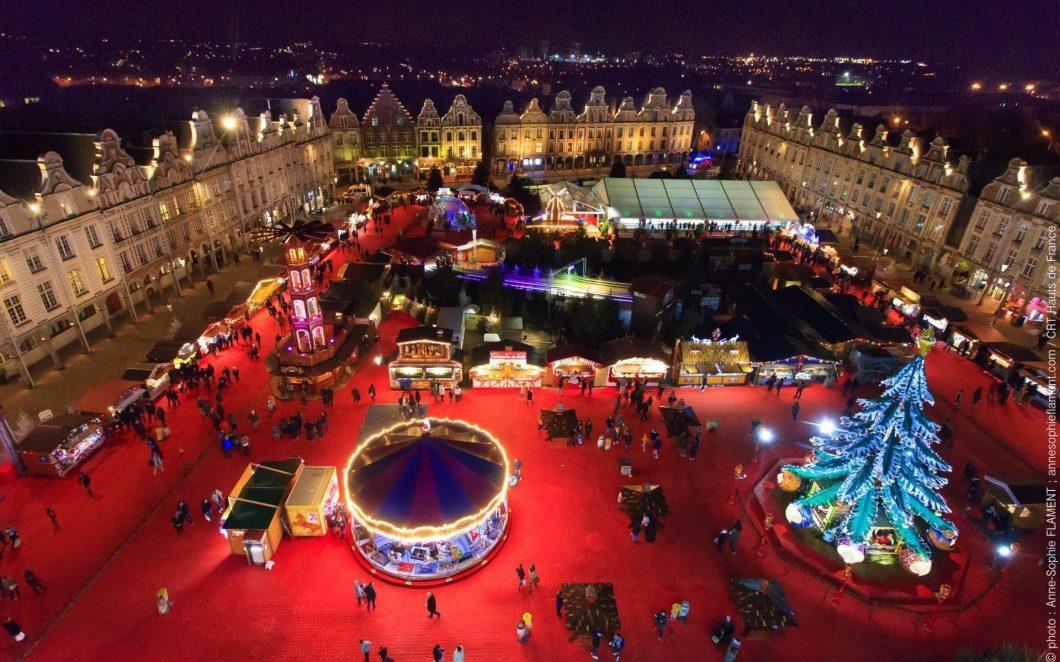 """Arras: Baukunst, Katakomben """"Boves"""" und der Weihnachtsmarkt"""