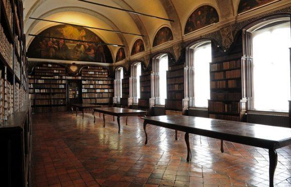 Jesuiten-Saal in der Bibliothek von Valenciennes, © Ville de Valenciennes