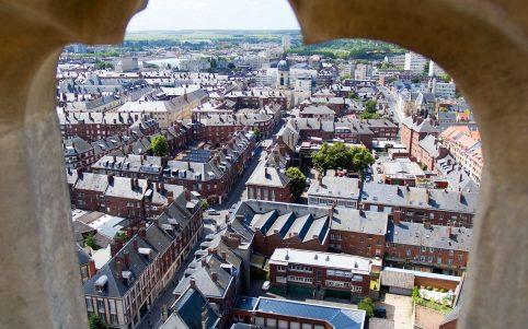 Blick auf Amiens, © Somme Tourisme