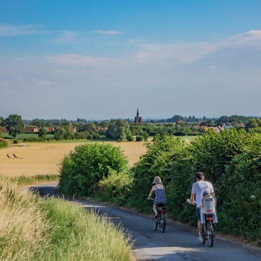 Radtour in den Monts de Flandre, © I. D'Hulst / OT Coeur de Flandre