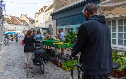 Markttag in Senlis, © Caroline Ledoux - Aqua Calypso - Oise Tourisme