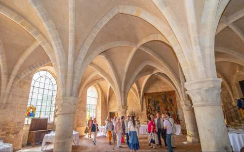 Abbaye de Royaumont, © Xavier Renoux - Oise Tourisme
