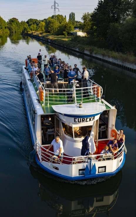 Passagierschiff in Douai, © AD Langlet