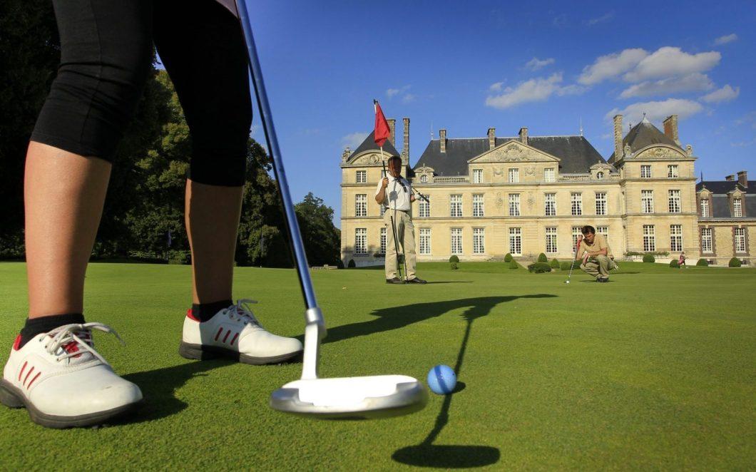 Golfplätze in Nordfrankreich