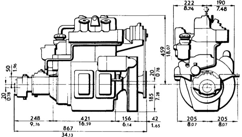Motorbyte – Volvo Penta MD11C