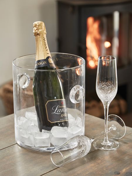 Glass Champagne Bucket  Champagne Bucket  Nordic House