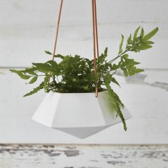 Kitchen Table Sizes Islands On Sale Geometric Hanging Planter - Medium Nordic House