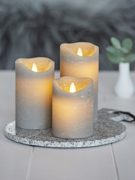 small kitchen rugs benches with storage grey led pillar candle - nordic house