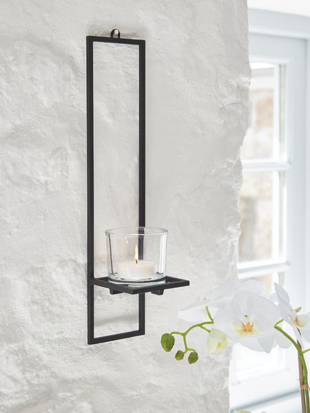 black kitchen rugs toys for toddlers wall mounted tealight holder |