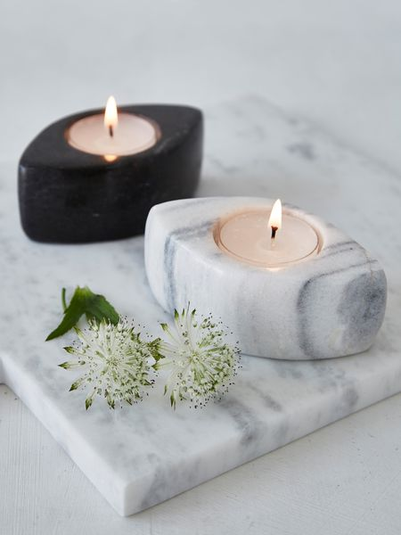 Marble Tealight Holders  Nordic House