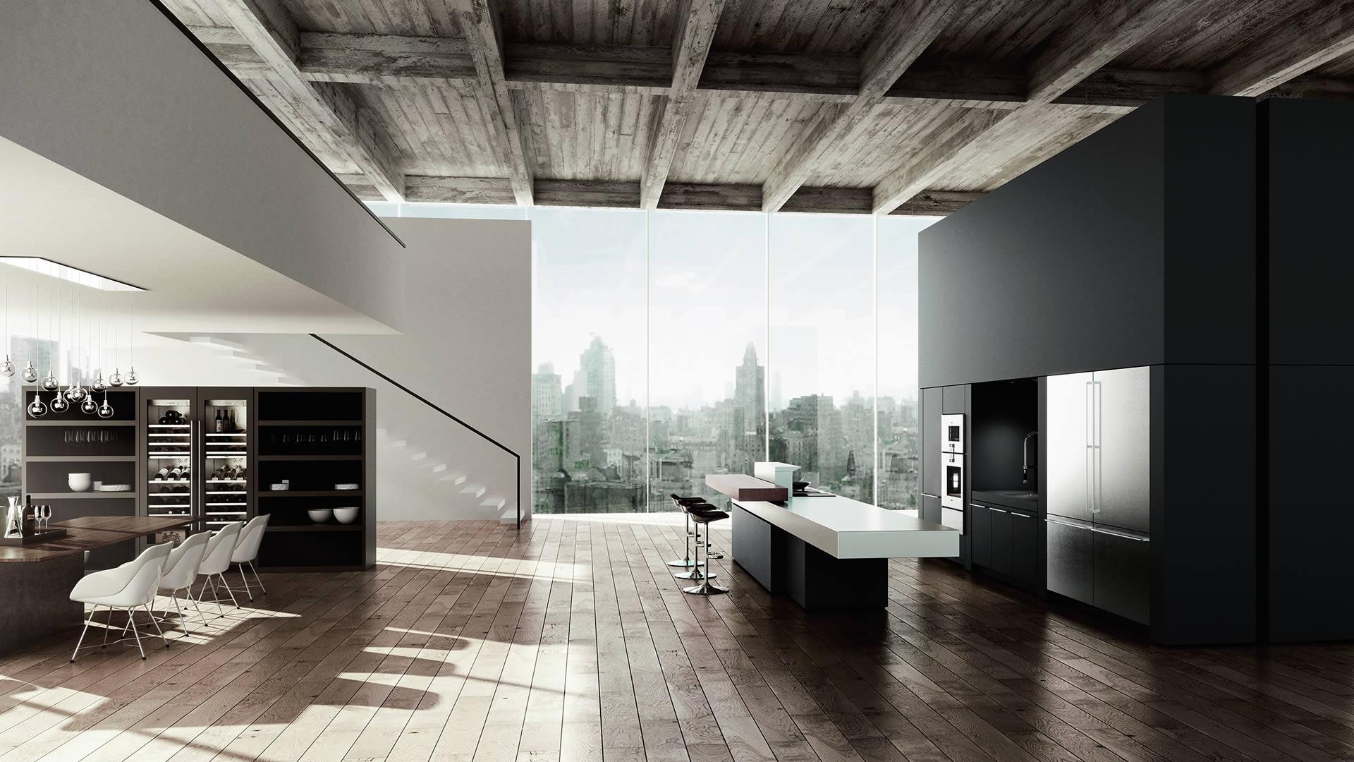 modern kitchen appliances pantry furniture gaggenau | fine luxury - nordic ...