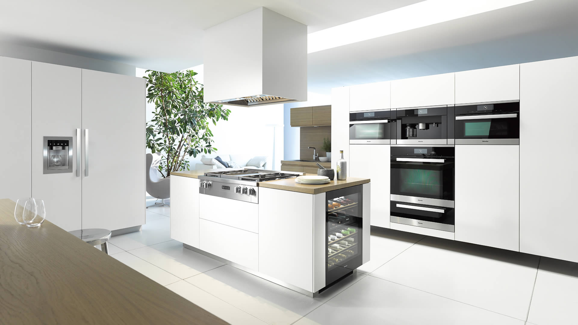 miele kitchen appliances sink racks fine luxury nordic kitchens and baths inc