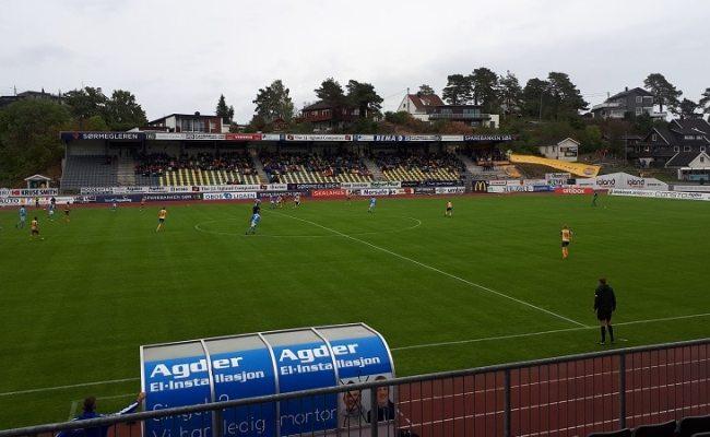 Fk Jerv Sandnes Ulf 1 1 Obos Ligaen 19 August 2018