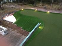 Villa Upinniemi golfgreen