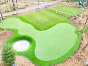 Golf-nurmikenttä