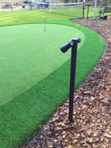 Valaistu golfviheriö