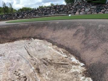 Golftekonurmi bunkkeri