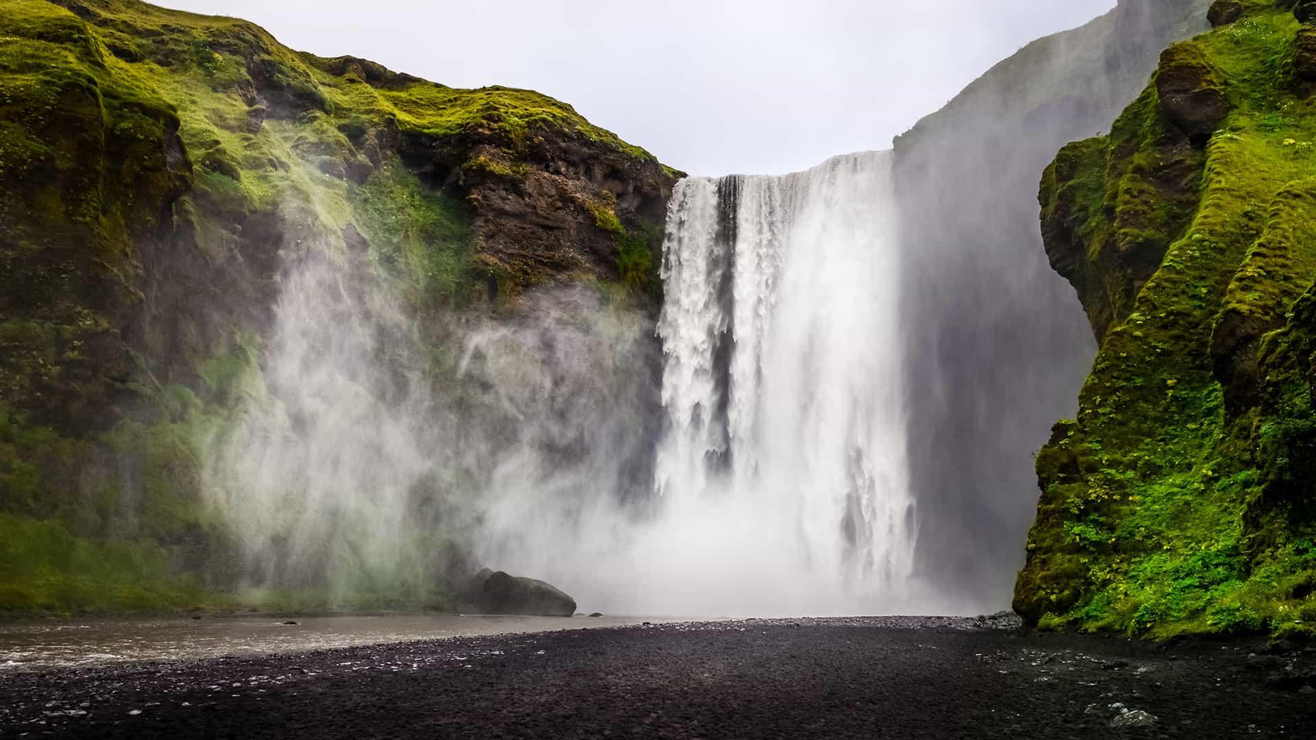 Amazing Falls Wallpaper Golden Circle And South Coast 4 Days 3 Nights Nordic