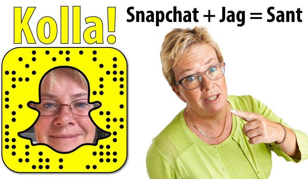 Vad är egentligen Snapchat?
