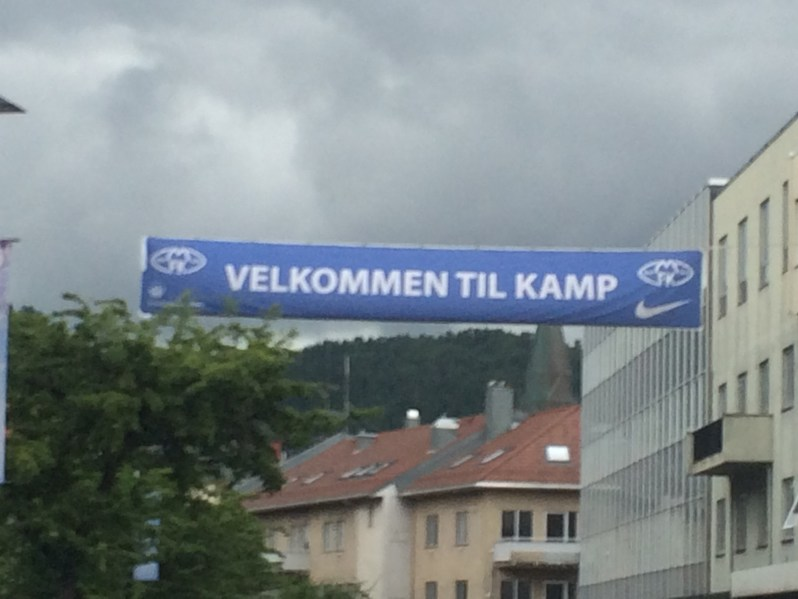 Le décor est planté, bienvenue à Molde
