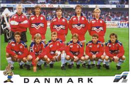 Danemark - Euro 1992