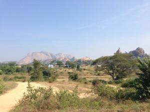 Das ist der Berg aus der weiten Ferne..