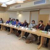11 av 12 partier som stiller til valg i Ávjovári valgkrets i forbindelse med Sametingsvalget hadde møtt med en representant til denne debatten. De som ikke hadde møtte var representant fra KrF ifølge møteleder.