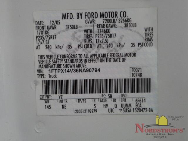 2006 Ford F150 Fuse Box