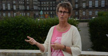 Folketingsmedlem Susanne Zimmer, Frie Grønne. Foto Nordtinget. ©