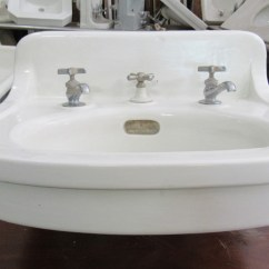 Wall Mounted Kitchen Sink Walnut Cabinets Nor'east Architectural Salvage Of South Hampton, Nh ...