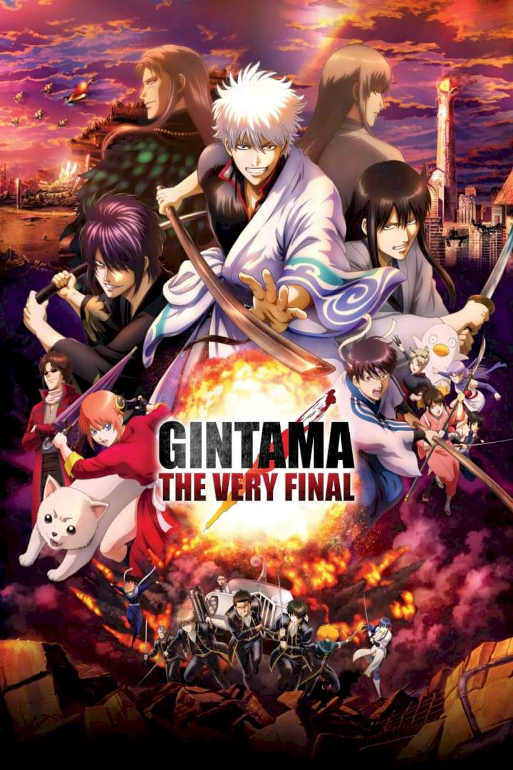 Download Gintama: The Final (2021) Japanese Full Movie MP4