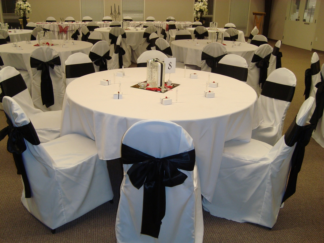 affordable chair covers calgary home depot shower sashes noretas decor inc picture