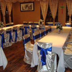 Affordable Chair Covers Calgary Quirky Swivel Sashes Noretas Decor Inc Picture
