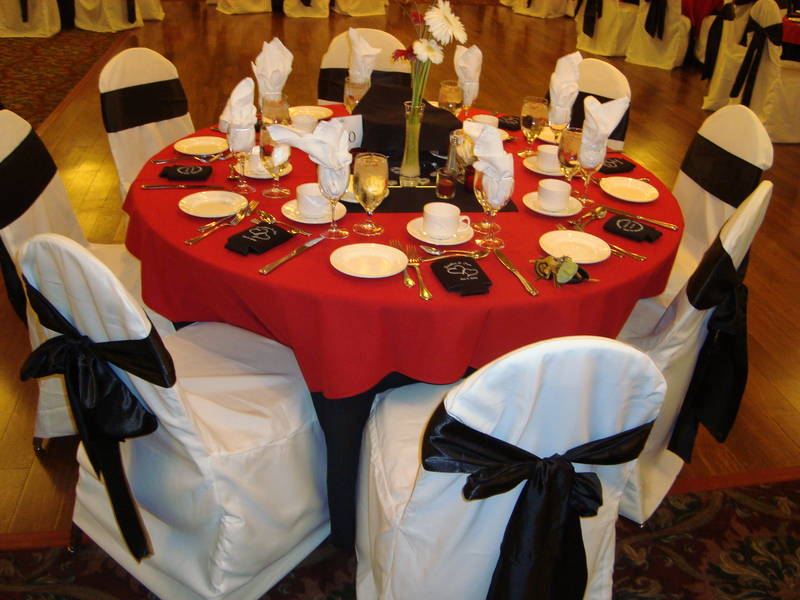 affordable chair covers calgary stool pronunciation sashes noretas decor inc picture