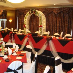 Affordable Chair Covers Calgary Rattan Sashes Noretas Decor Inc Picture