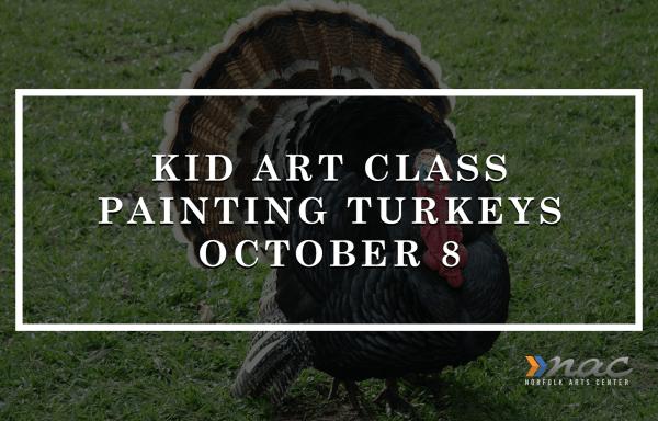 Youth Art Class   Paintings (Turkeys)