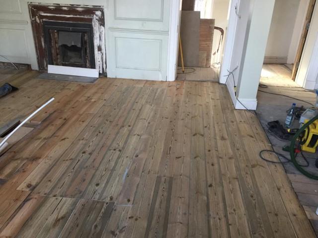 Norwich floor sander