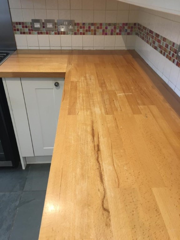 kitchen worktop repair