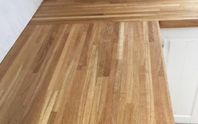 Swaffham solid wood kitchen worktop