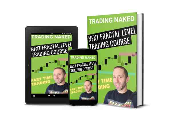 Part time trading with the fractal level trading course
