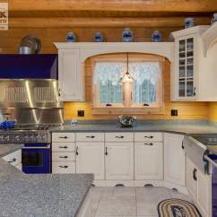 Kitchen Cabinets Accessories Manufacturer All In One Appliances Log Cabin With Blue - Norfolk ...