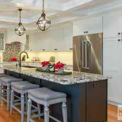 Shaker Style Kitchen Cabinet Hardware Fluorescent Lighting Black & White Showplace - Norfolk Bath