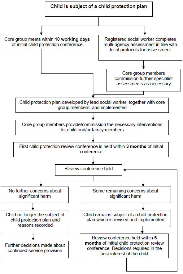 4 5 Flowchart 5 What Happens After The Child Protection