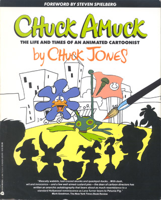 Cover to Chuck Amuck: The Life and Times of an Animated Cartoonist by Chuck Jones