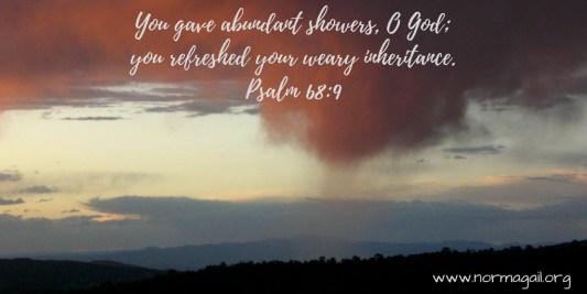 Sweetness of Showers scripture