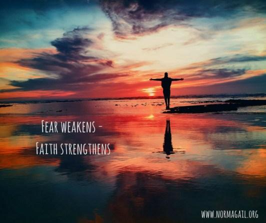 When Fears & Faith Collide meme