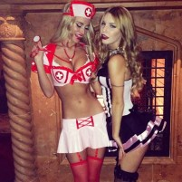 sexy Halloween outfit