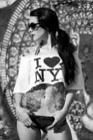 tattoo girl NY
