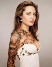 tattoo girl angelina jolie